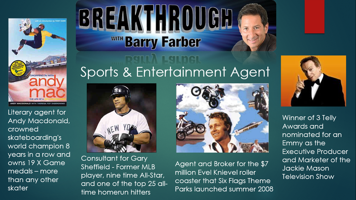 Barry Farber - Featured Agent